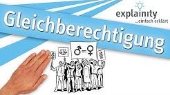 Gleichberechtigung einfach erklärt (explainity® Erklärvideo)