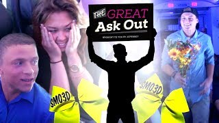 SMOED CHEERLEADER ASKED TO PROM ON AIRPLANE! - The Great Ask Out Ep. 4