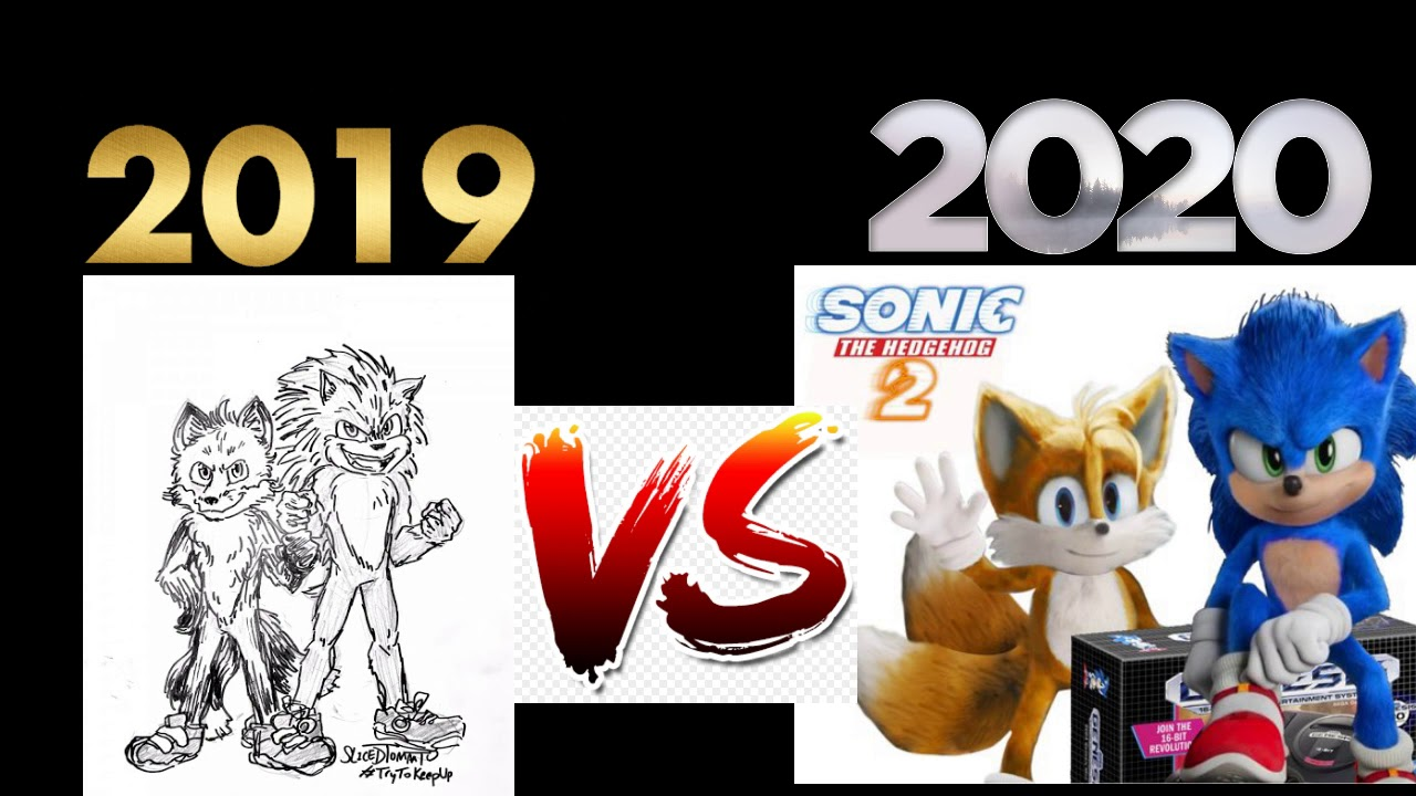 Sonic And Tails Vs Old Sonic And Old Tails New Designs Vs Old Designs Youtube