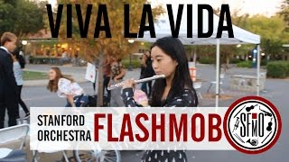 Viva La Vida (Coldplay) - Stanford Flashmob Orchestra