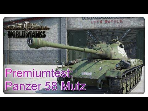 Stiftung Premiumtest: Panzer 58 Mutz