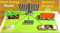 solar energy model science project for science exhibition | howtofunda