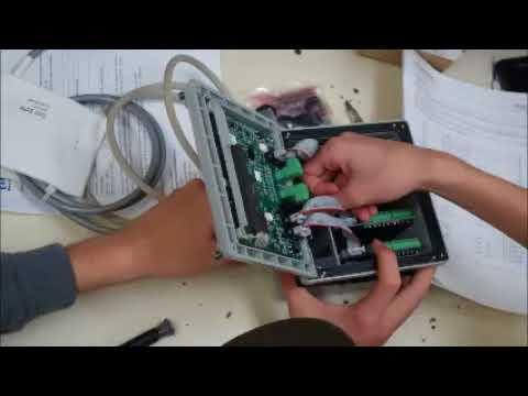 Installing Sensors On Rosemount 1056 Analyzer