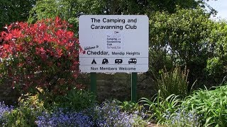 Cheddar Mendip Heights Camping And Caravanning Club Site Somerset.