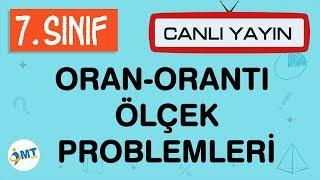 7. Sınıf Matematik ORAN-ORANTI-ÖLÇEK Problemleri (CANLI YAYIN)