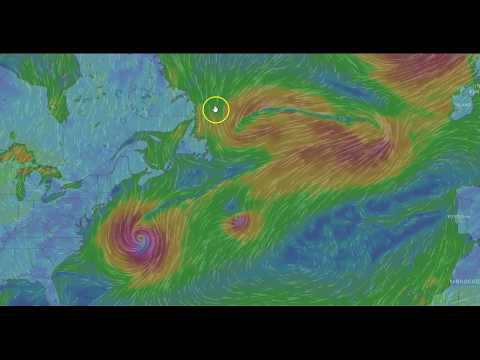 Hurricane Maria and Looks like Lee Will be come A Hurricane PM Update 9-23-17