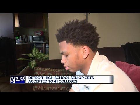 Big Boy - Detroit High School Senior Accepted Into 41 Colleges