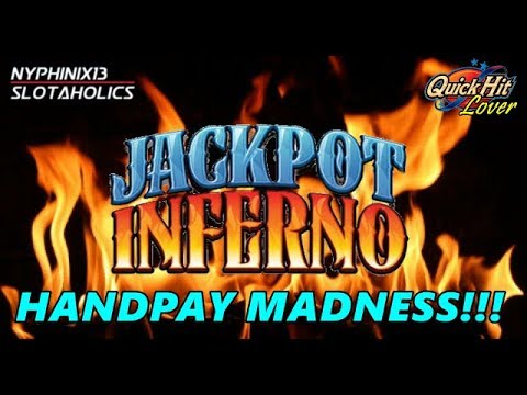 JACKPOT INFERNO HANDPAY!  Slot Bonus