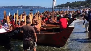 Muckleshoot Tribe Celebrates In Seattle