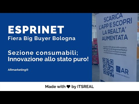 Esprinet S.p.a insieme al Brand Hp | 1°catalogo in realtà aumentata | AR Marketing