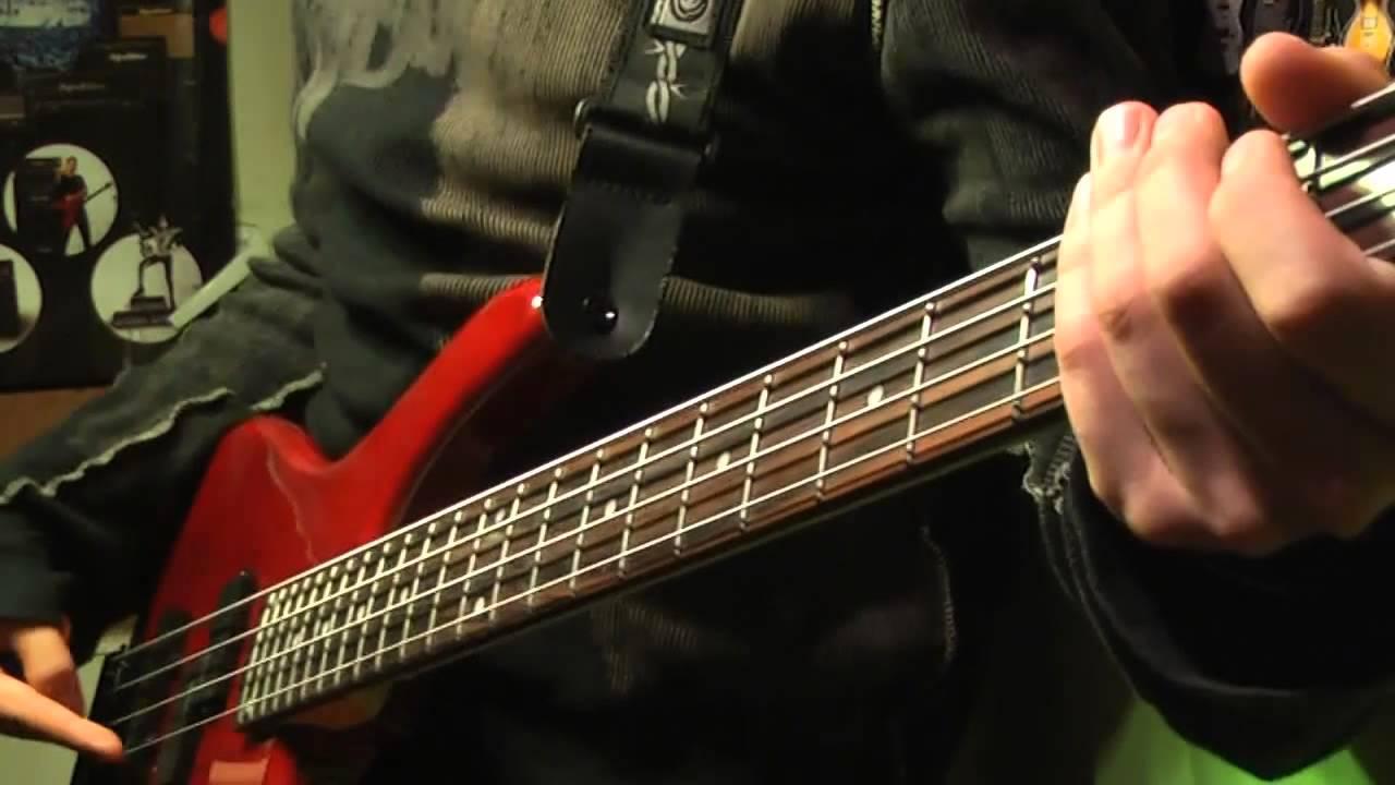 партии на бас гитаре августе