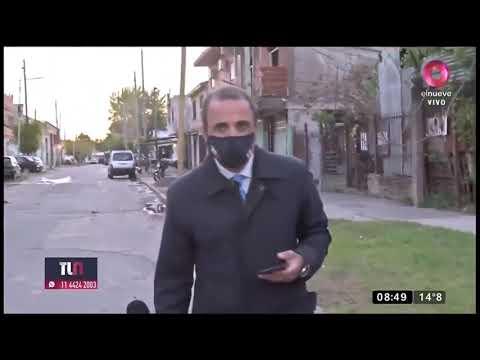 Le robaron el teléfono celular a un periodista de Canal 9 mientras hacía un móvil