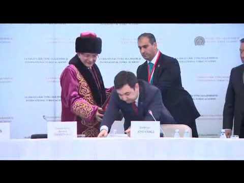 Prime Minister of Turkey Ahmet Davutoglu in Kazakhstan 1