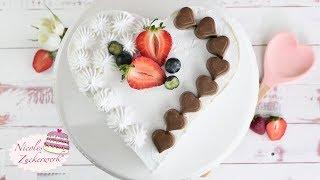 Fruchtige Joghurttorte zu Muttertag I lockerer Biskuit & leckere Joghurtcreme I  Nicoles Zuckerwerk