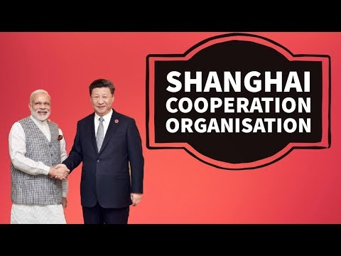 Shanghai Cooperation Organisation - SCO Summit 2017 -  India & Pakistan become members