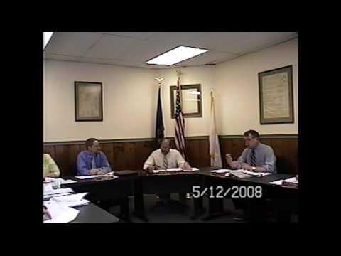 Champlain Village Board Meeting  5-12-08