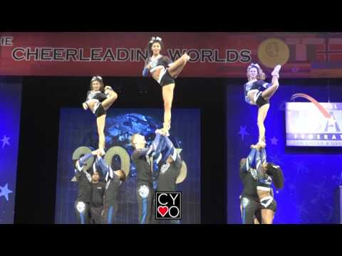 Cheer Athletics Wildcats Worlds 2016