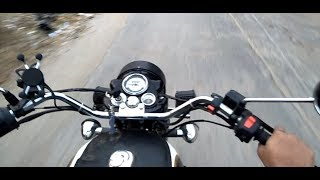 Harley Handlebar On Royal Enfield Classic 350