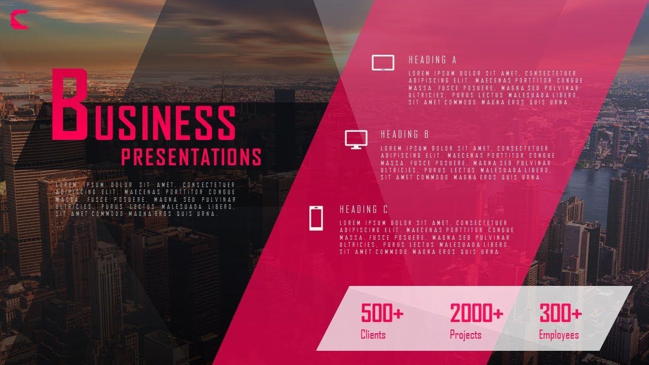 how to design process showcase presentation slide in