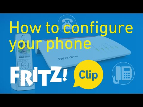 FRITZ! Clip – How to configure your phone