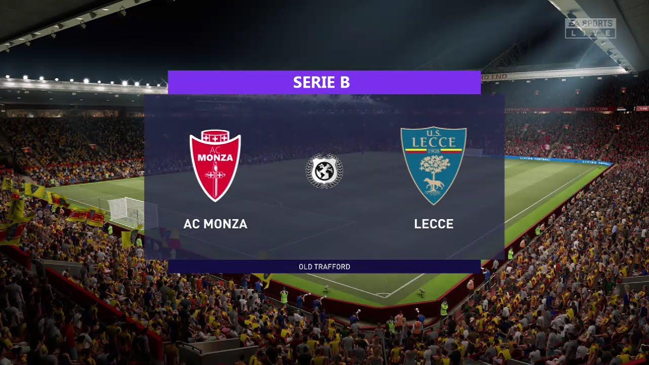 ⚽ Monza vs Lecce ⚽   Serie B (04/05/2021)