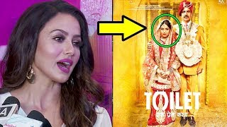 Sana Khan's Reaction On Akshay Kumar