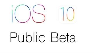 iOS 10 Public Beta Installieren German/Deutsch