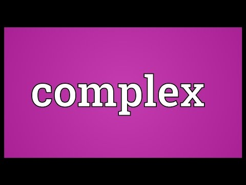 Complex Meaning