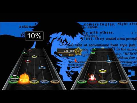 Tank!  Seatbelts Cowboy Bebop  Guitar + Bass Chart Preview