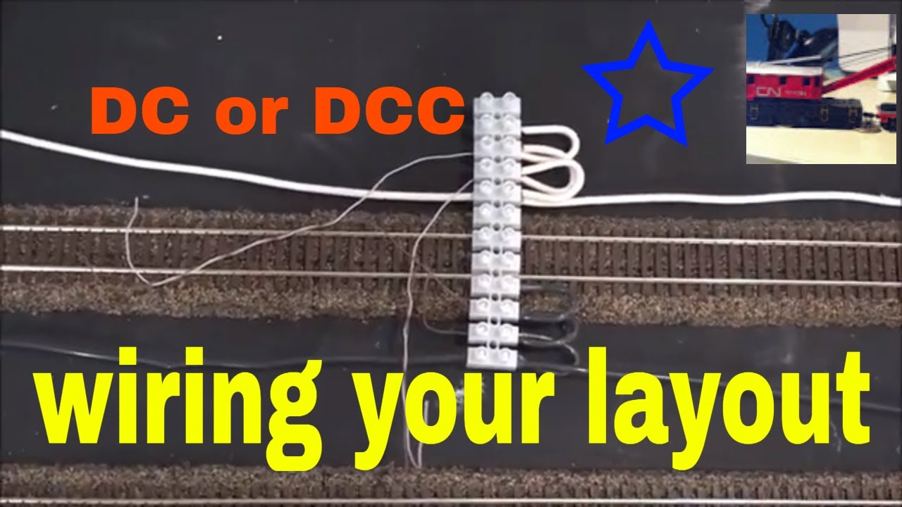wiring a model train layout bus line feeder wires for dcc [ 1280 x 720 Pixel ]