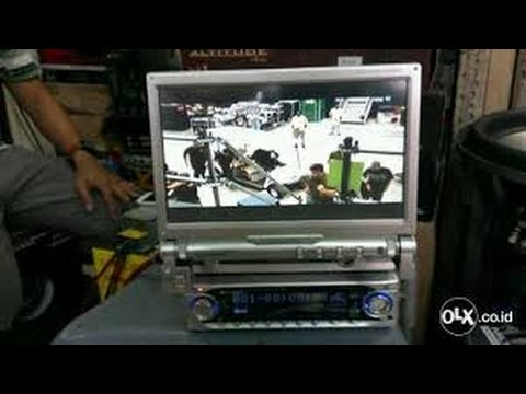 Kenwood VZ-5000 IN DASH Motorized Monitor 7 Inch Touch Screen