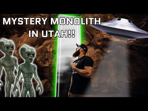 We Found The Alien Monolith In The Utah Desert!