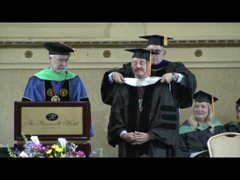 SUNY Optometry's 2017 Commencement on CBS New York
