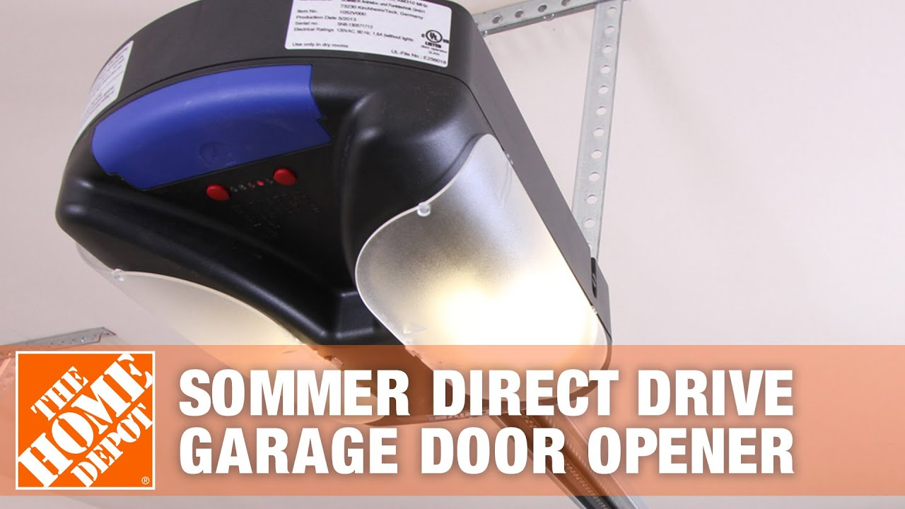 Sommer Direct Drive Garage Door Opener Youtube