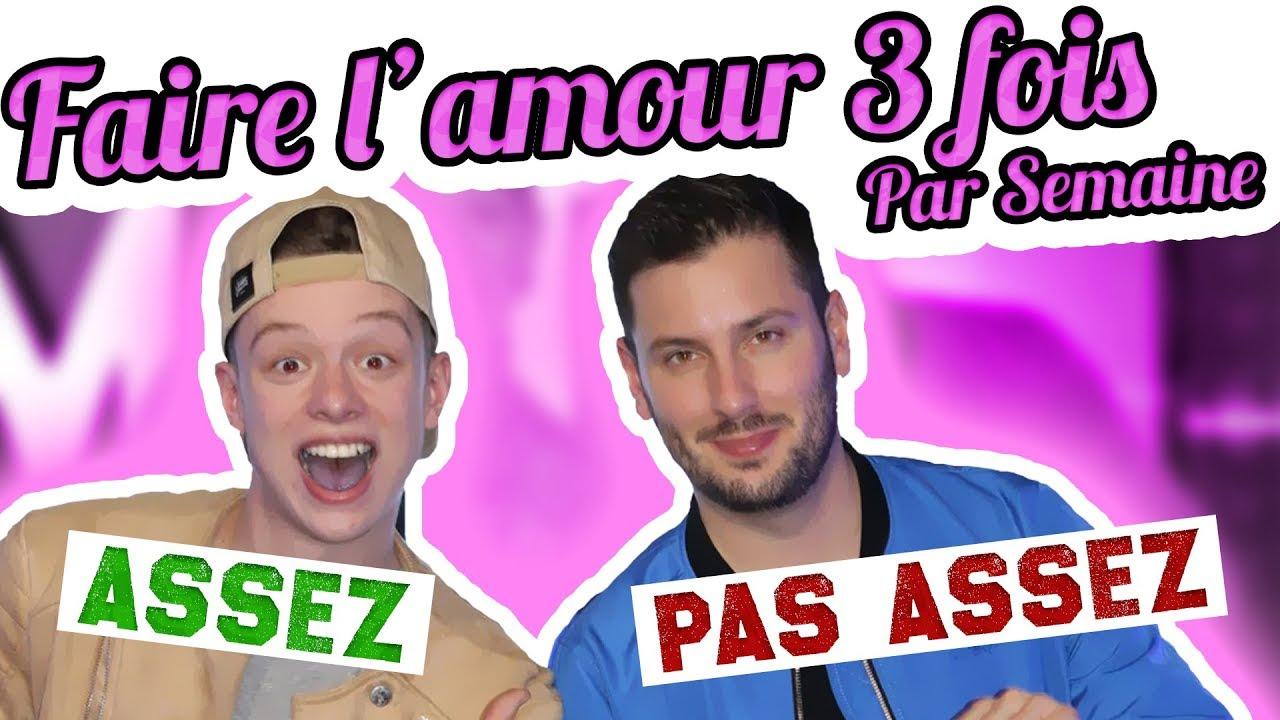 FAIRE L'AMOUR 3 FOIS PAR SEMAINE ? - avec Maxime Guény de Touche Pas à Mon Poste