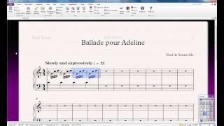 03 Видеокурс Sibelius 7. Урок №3. Ввод нот