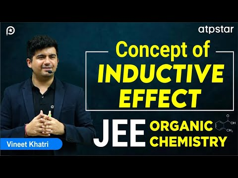 Awesome Concept of Inductive effect ( +I and - I) - By Vineet Khatri