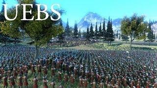 БИТВА 5 ВОИНСТВ ХОББИТА 5000 СИЛ ДОБРА против 6000 ОРКОВ - Ultimate Epic Battle Simulator