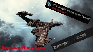 EVE Solo PVP: Scorpion Navy Issue