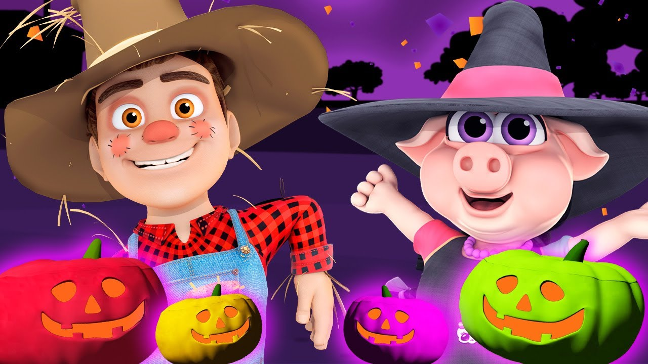🎃 Halloween Pumpkin Fun 🎃 - Colourful Sweets at Zenon's Farm #Halloween - Videos for Kids