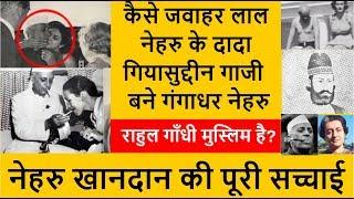 Nehru Khandan Ki History | Nehru Parivar Ka Itihas | नेहरू परिवार का इतिहास Part 1 | Kaam Ki Baat