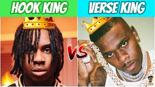 RAPPERS BETTER AT HOOKS vs RAPPERS BETTER AT VERSES!