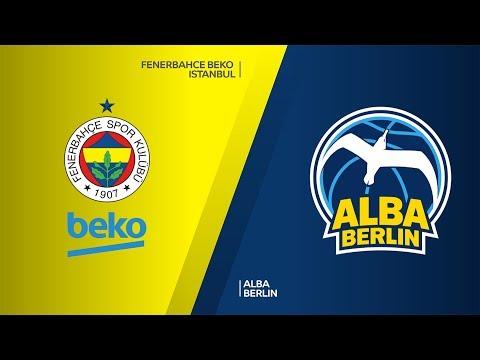 Fenerbahce Beko Istanbul - ALBA Berlin Highlights | Turkish Airlines EuroLeague,