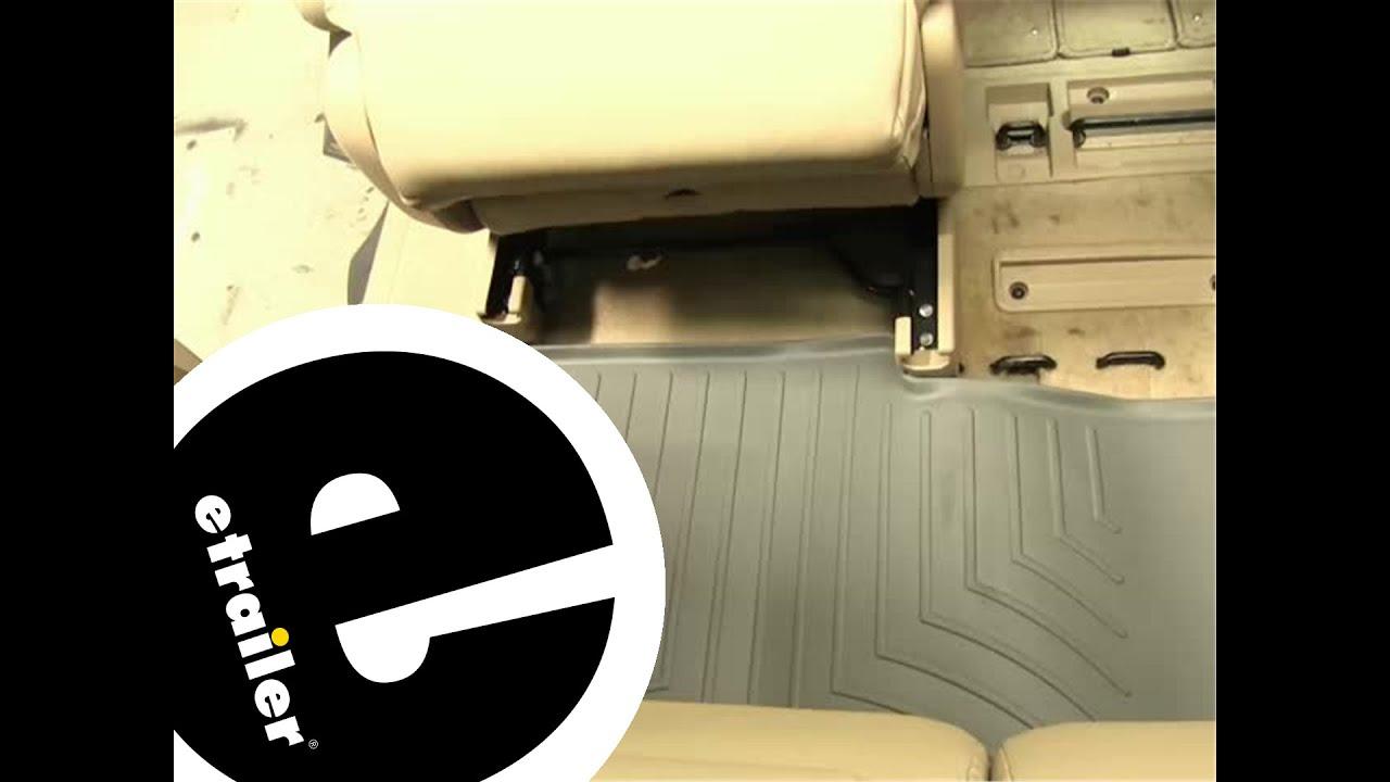 Floor mats odyssey - Review Of The Weathertech Third Row Floor Liner On A 2007 Honda Odyssey Etrailer Com