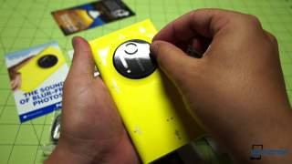 iPhone 5C - Nokia Lumia 1020 Unboxing & Hardware Tour | Pocketnow