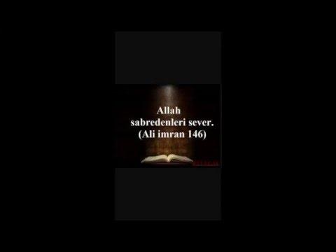 Bakara suresi 153-157 ayet-i kerime