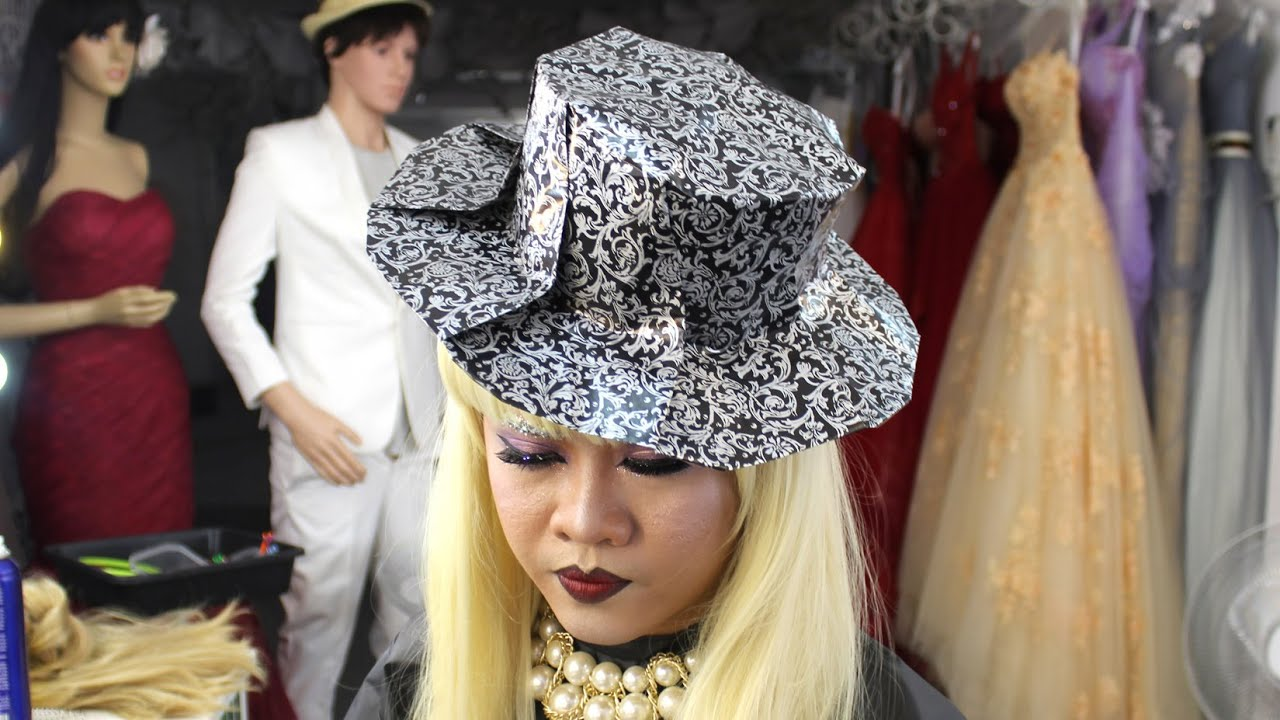 Origami top hat for Halloween (Henry Phạm) - YouTube - photo#27