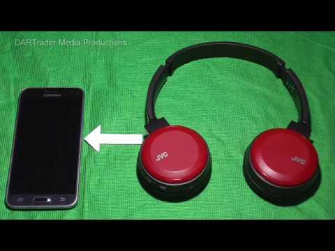 How To Pair The Jvc Ha S30bt Bluetooth Wireless Headphones Youtube
