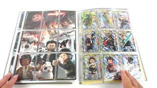 LEGO Star Wars Trading Card Collection / Mappenupdate alle 252 Karten + alle 24 limitierte Karten