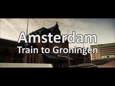 Amsterdam [Train to Groningen]